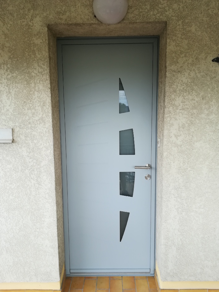 Portes aluminium