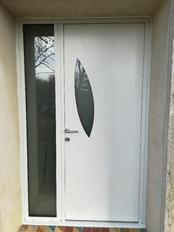 Porte en aluminium rénovation Drome Ardèche