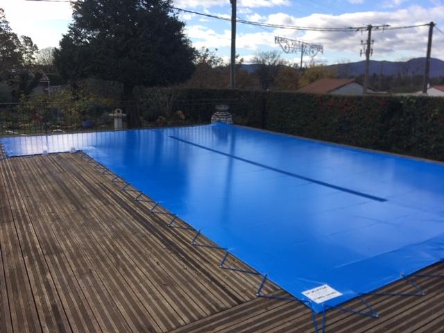 Bâches de piscine Drôme Ardèche